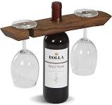 Woodworks Balancing Wine Rack