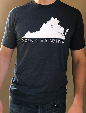 Navy DrinkVA Tshirt